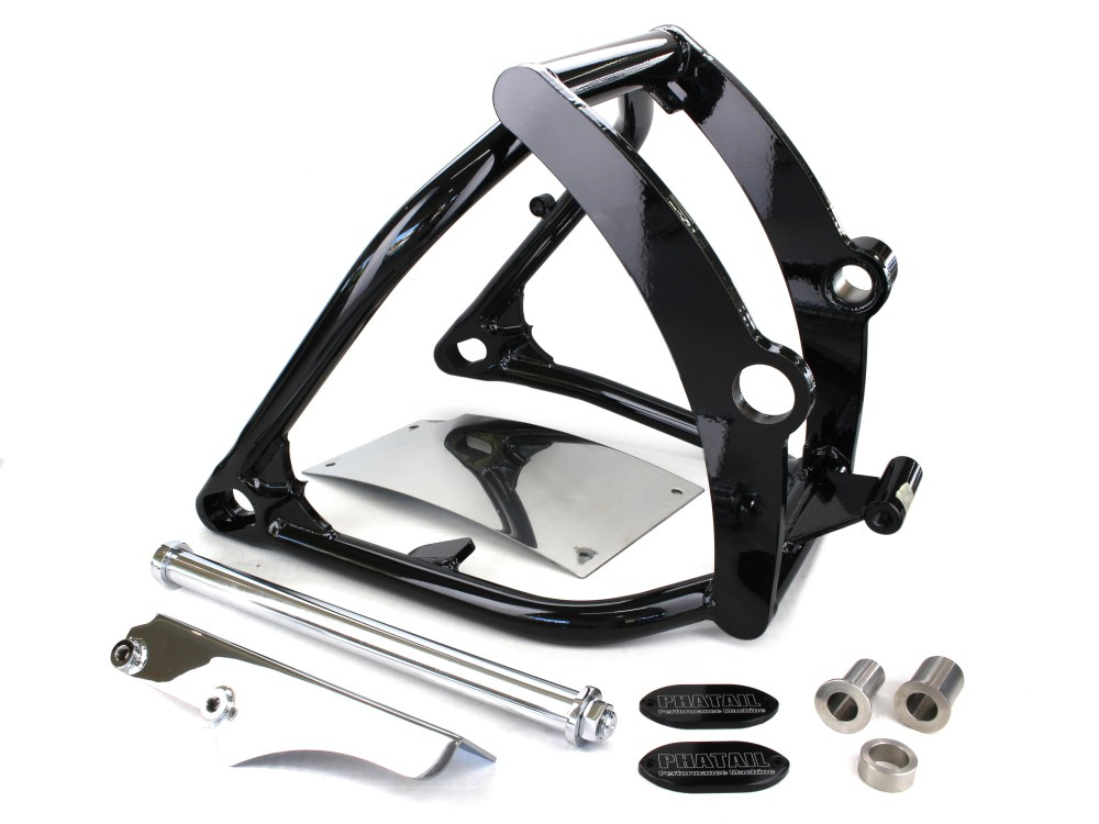 Phatail 240mm Conversion Kit with Standard Brake & Recessed Number Plate. Fits Softail 2000-2006 with 5 Speed Transmission.
