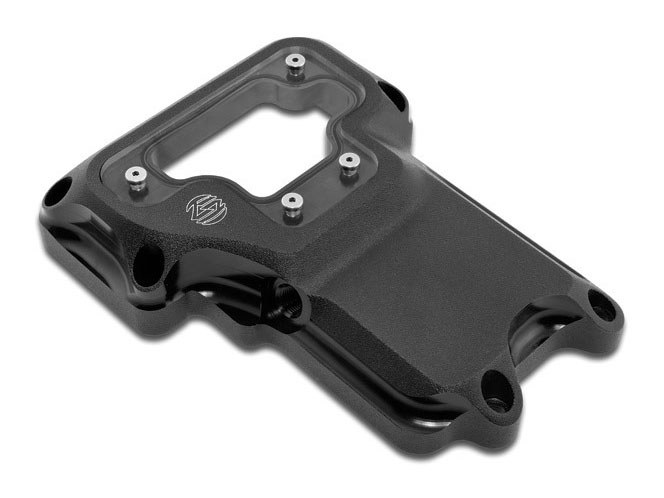 Clarity Transmission Top Cover – Black Ops. Fits 6Spd Twin Cam 2006-2017.