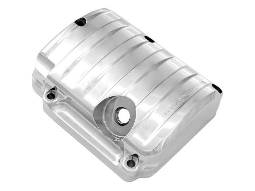 Drive Transmission Top Cover – Chrome. Fits 5Spd Twin Cam 2000-2006.