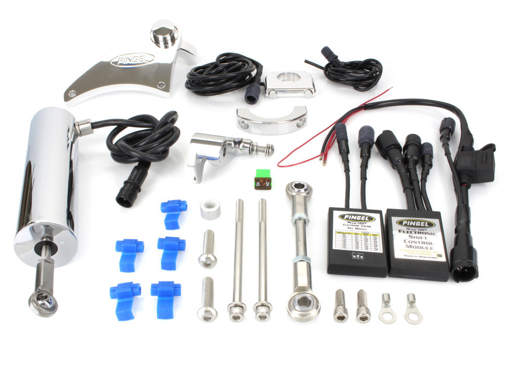 Electric Shifter Kit. Fits Dyna 2006-2017 with Mid Controls.