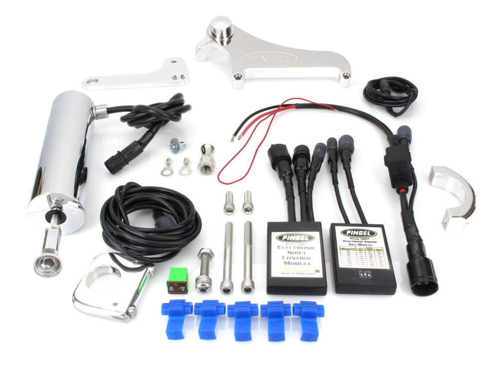 Electric Shifter Kit. Fits FXST 2000-2006.