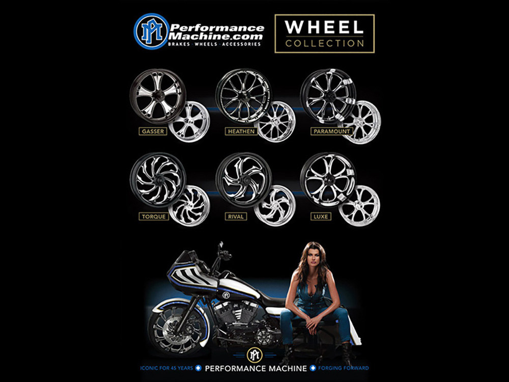 Performance Machine Wheels Banner.