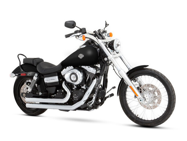 2-into-2 Exhaust - Chrome with Chrome End Caps. Fits Dyna 2006-2017.