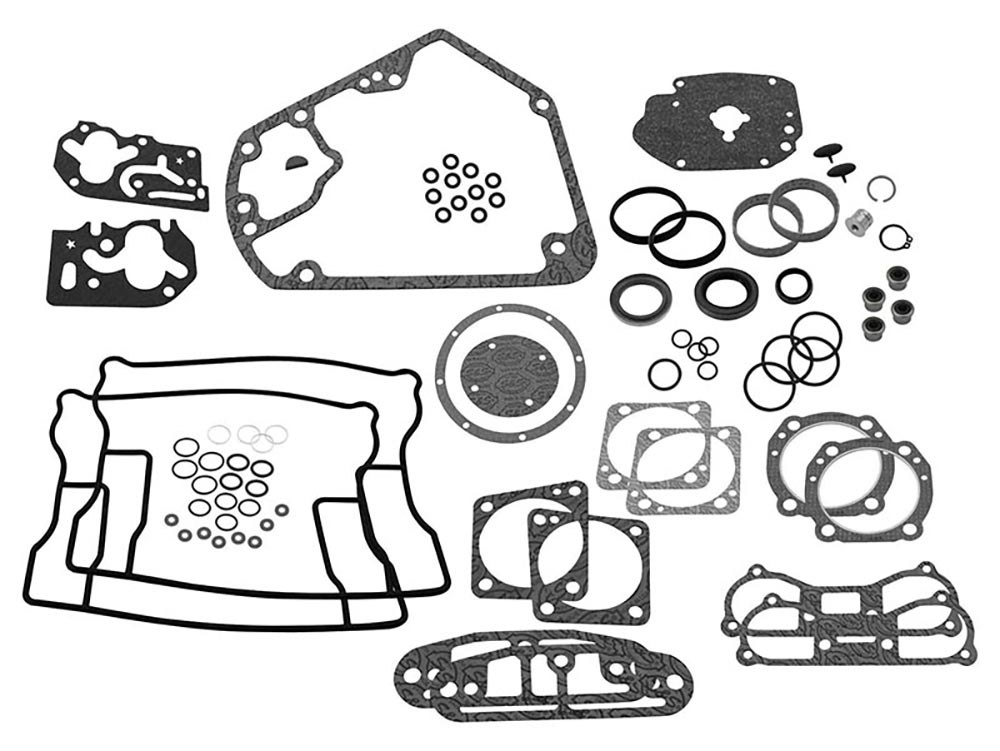 Engine Gasket Kit. Fits Big Twin 1984-1999 with 3-5/8