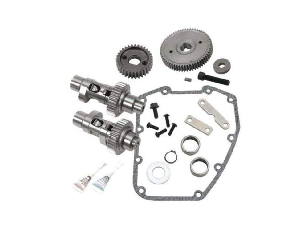 583GE Gear Drive Easy Start Camshaft Kit. Fits Twin Cam 1999-2006 excluding Dyna 2006.