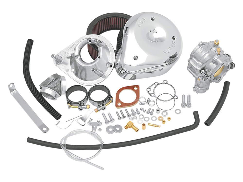 Super E Carburetor Kit. Fits Sportster 1979-1985.