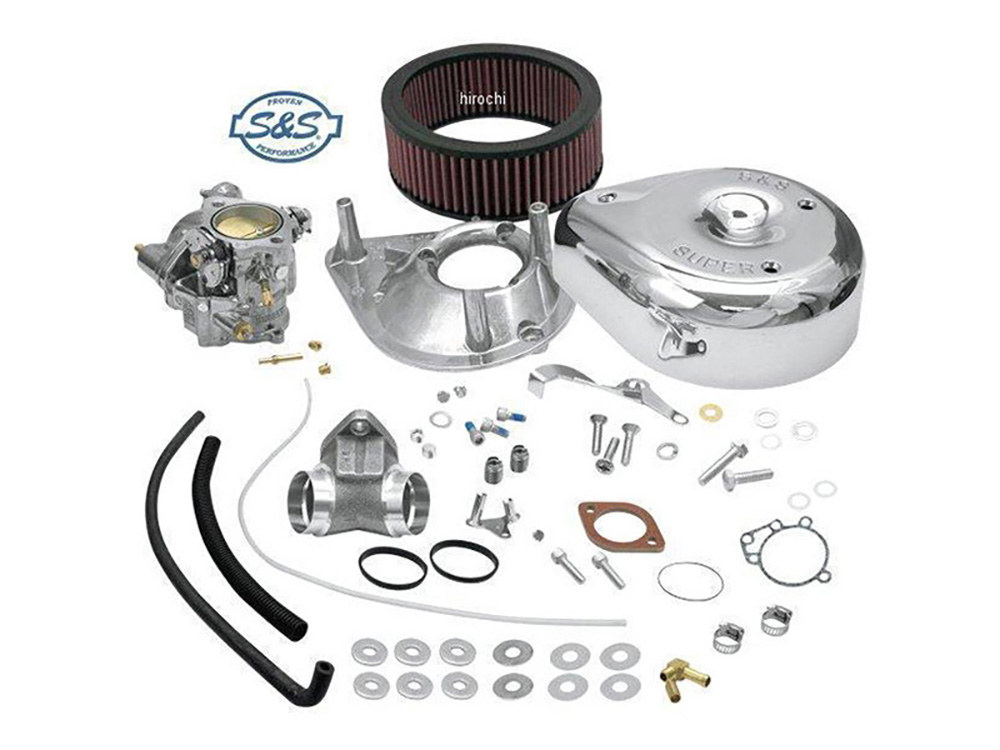 Super E Carburetor Kit. Fits Sportster 1986-1990.