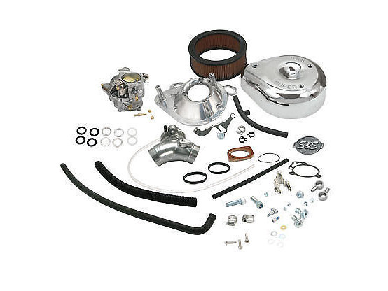 Super E Carburetor Kit. Fits Sportster 1991-2003.