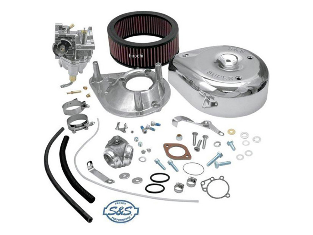 Super E Carburetor Kit. Fits Big Twin 1979-1984.