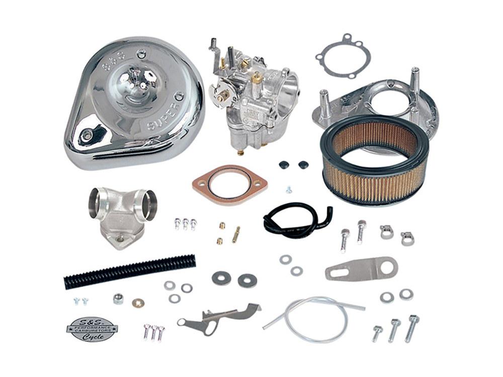 Super E Carburetor Kit. Fits Sportster 2004-2006.