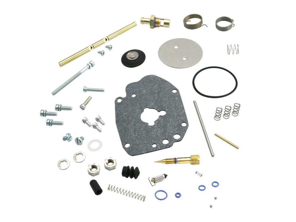 Carb Rebuild Kit; Master Super G