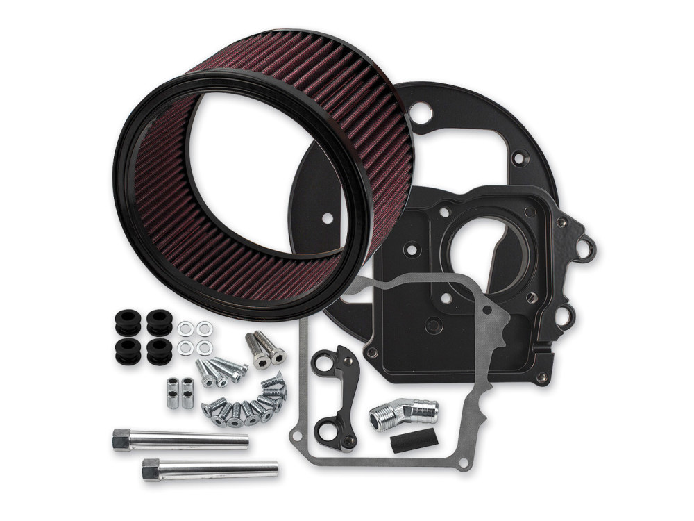 S&S Air Filter Assembly; Indian Tourer'14up. High Flow Element. Exclude Scout.