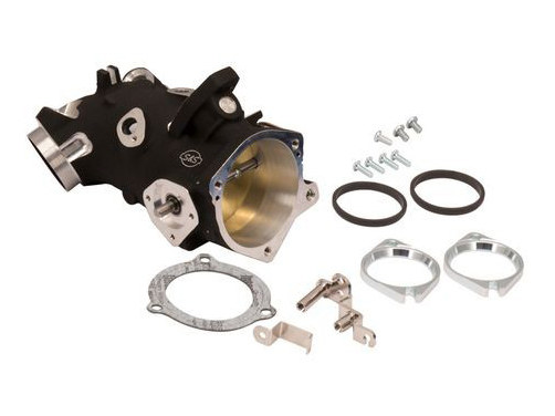 58mm Throttle Body with Black Finish. Fits Big Twin 2006up.