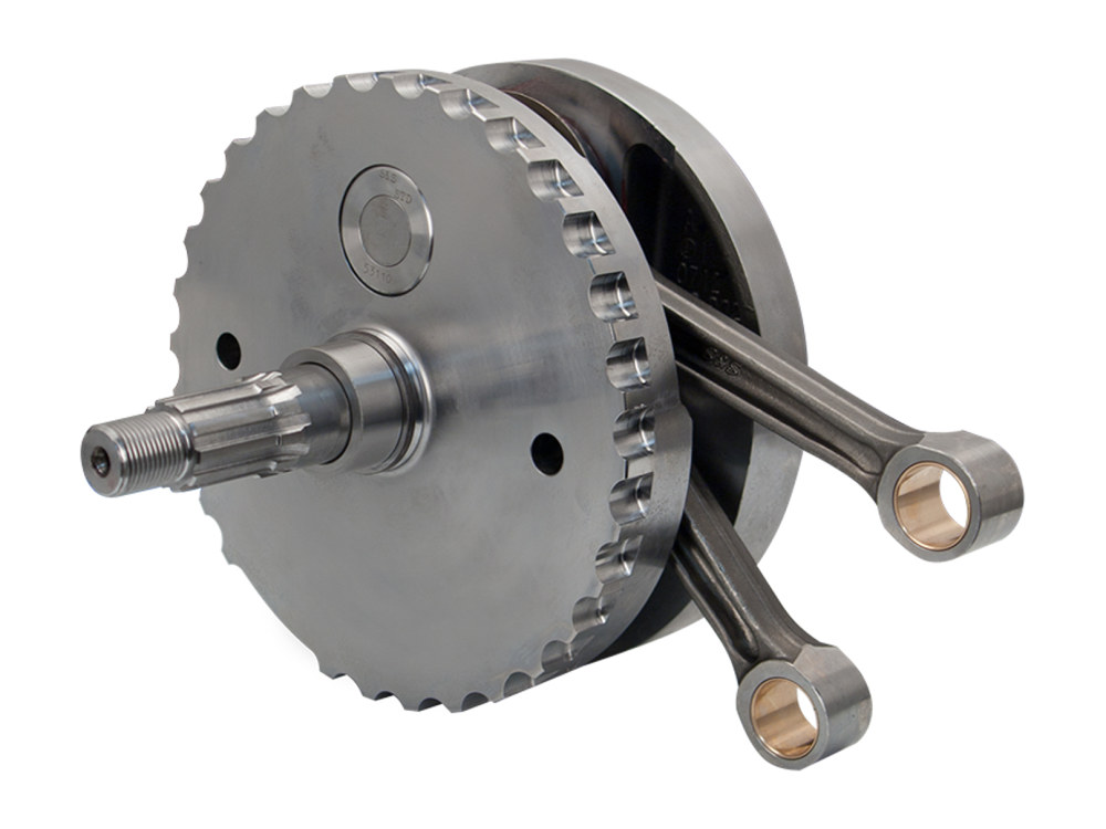 106ci Stroker Flywheel Assembly – 4-1/2in. Stroke. Takes 2000-2006 88ci Twin Cam Softail to 106ci with 3-7/8in. bore.