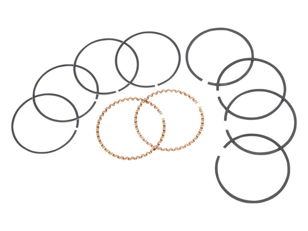 Piston Rings; XL'86up Std 1250cc Kit 3-9/16