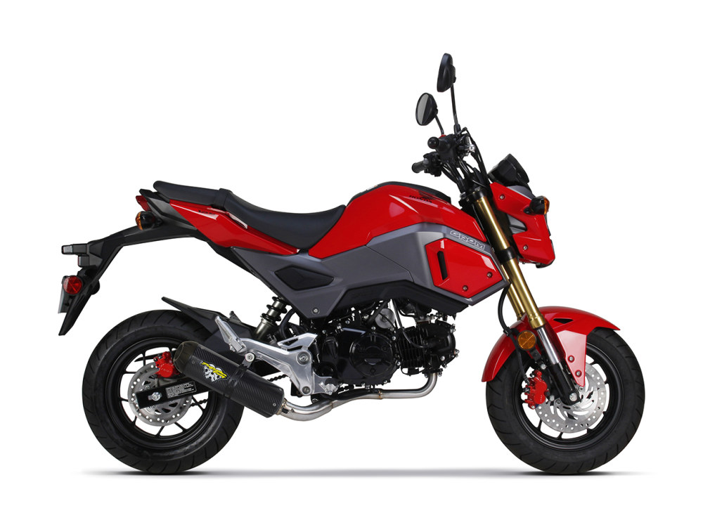 Honda Grom Full System Exhaust. Fits Honda MSX125 2017up Models.