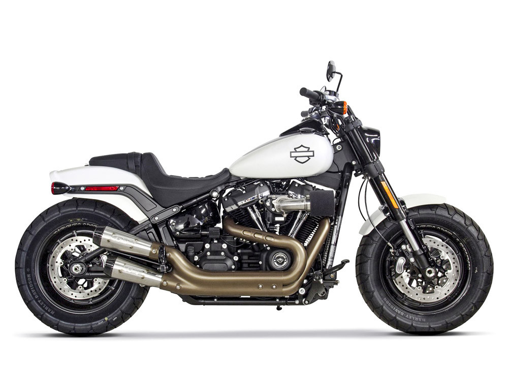 Comp-S Stainless Mufflers suits Softail Fatbob 2018up