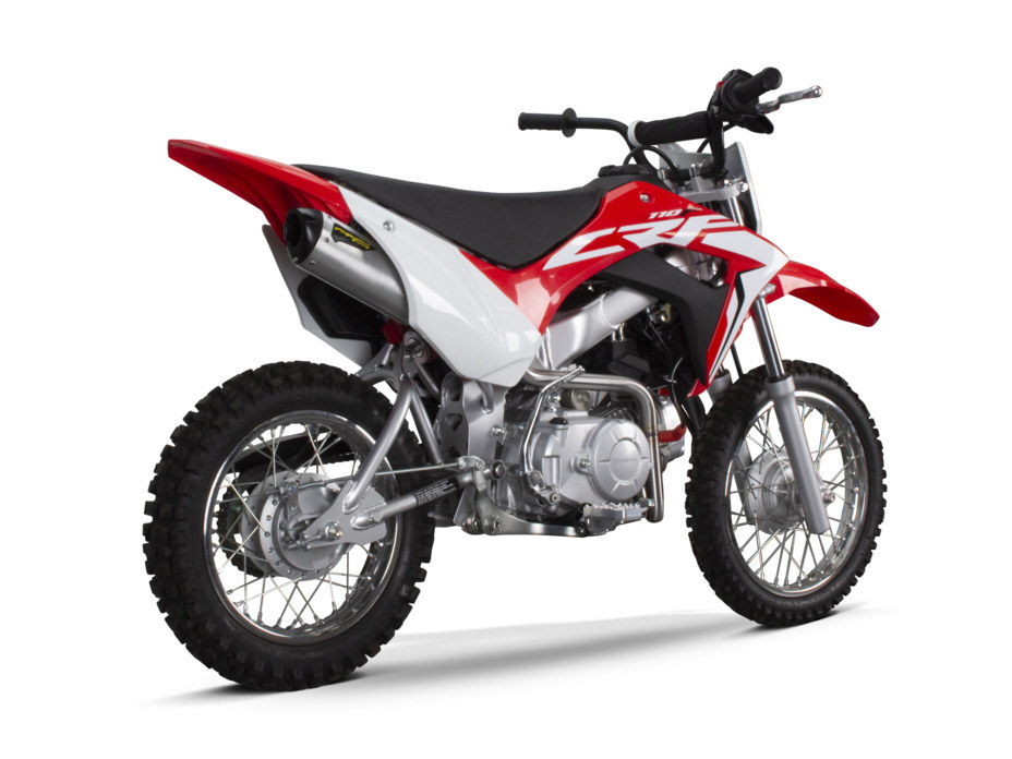 Honda CRF110F M6 Full Exhaust System. Fits 2019up.