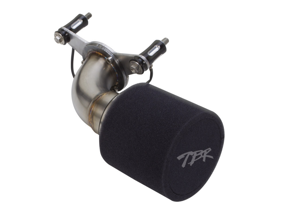 Moto Intake, Dyna 1999-2017. Stainless Steel