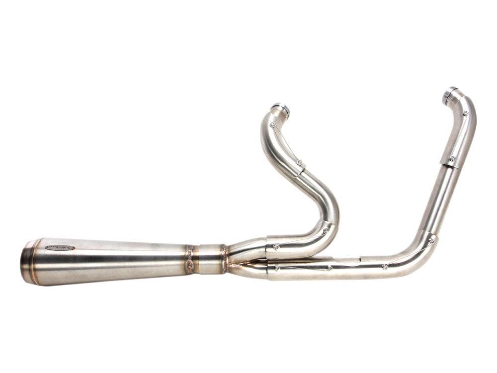 Assault 2-into-1 Exhaust - Stainless Steel. Fits Touring 2017up.