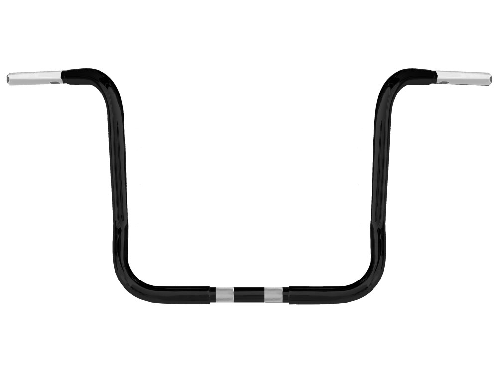 14in. x 1-1/4in. Chuppy Bagger Ape Handlebar – Gloss Black. Fits Touring 1996up with Fairing.