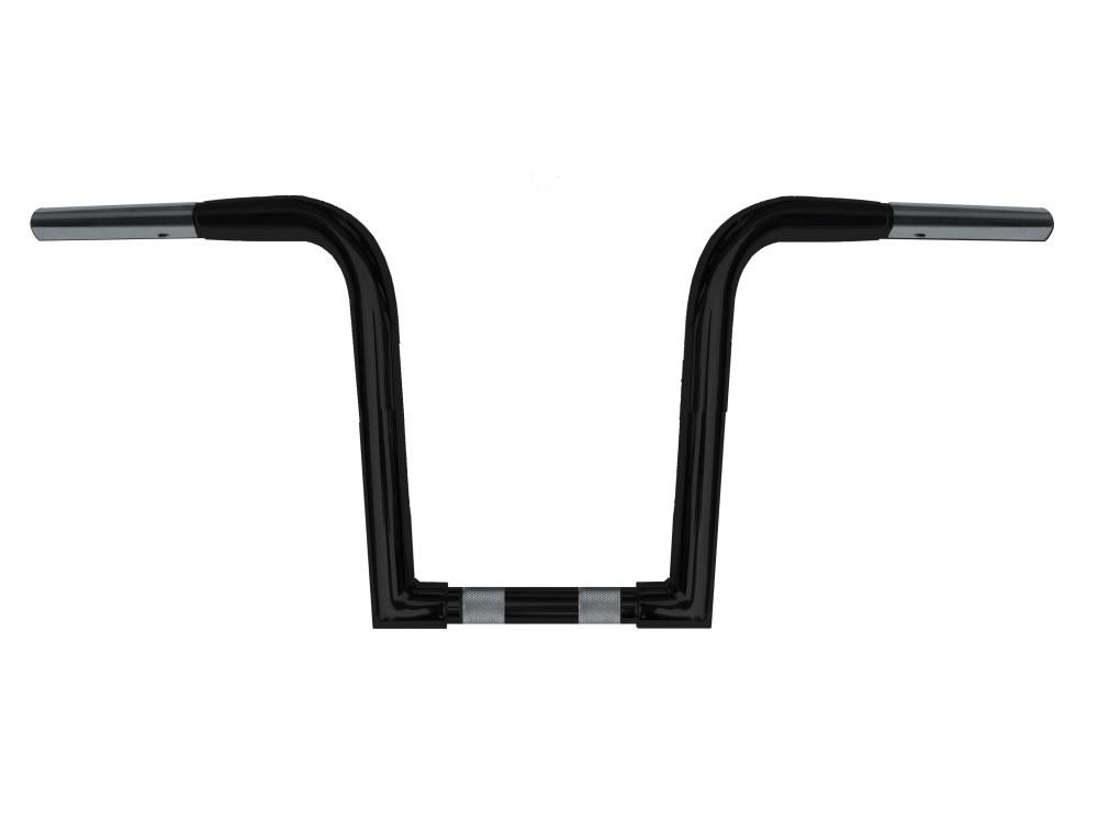10in. x 1-1/4in. Chubby OutlawZ Ape Hanger Handlebar with Narrow Bottom – Gloss Black.