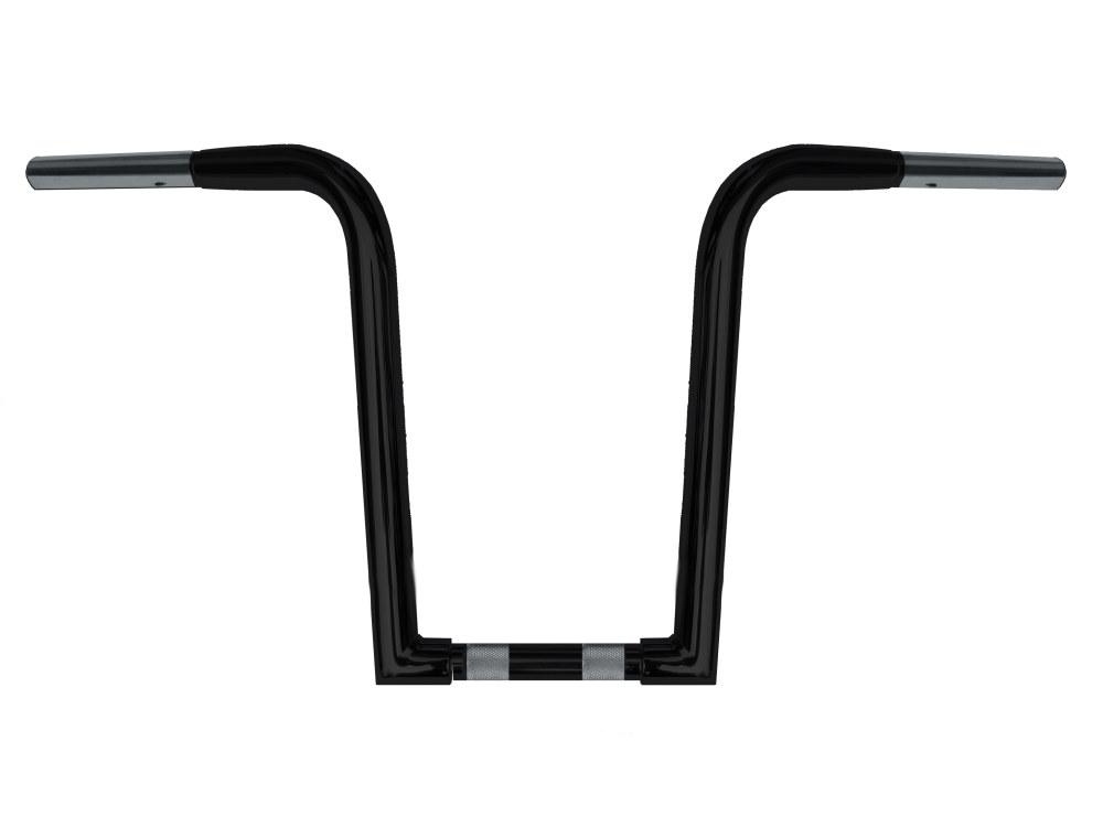 14in. x 1-1/4in. Chubby OutlawZ Ape Hanger Handlebar with Narrow Bottom – Gloss Black.