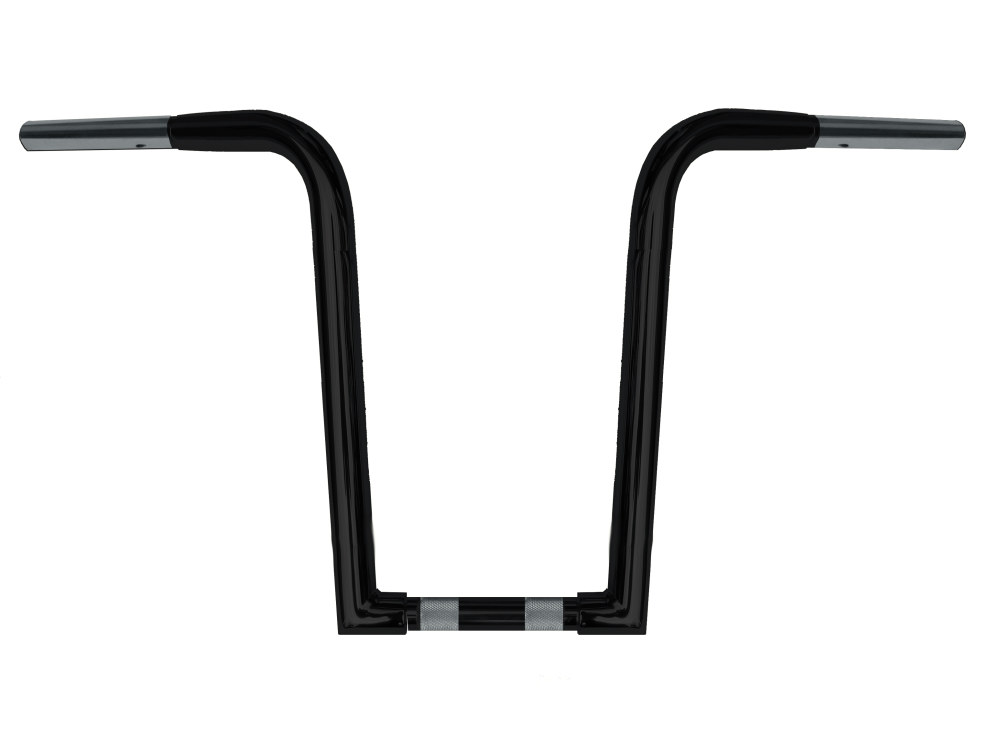 16in. x 1-1/4in. Chubby OutlawZ Ape Hanger Handlebar with Narrow Bottom – Gloss Black.