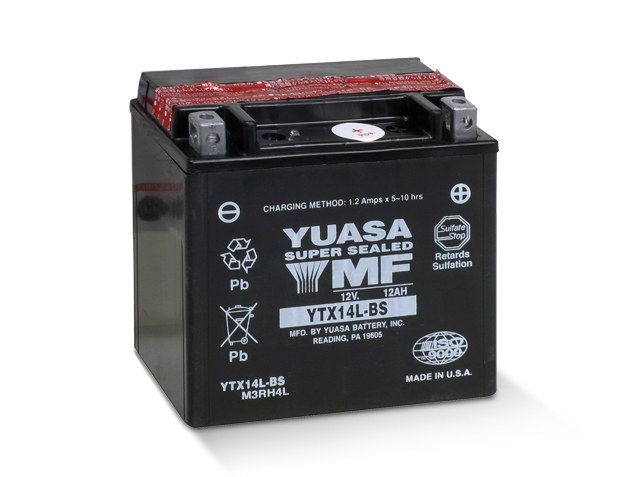 Premium Quality AGM Motorcycle Battery. Fits Sportster 2004up & Street 2015up Models.