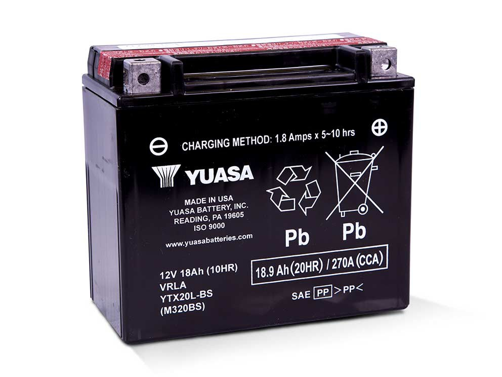 Premium Quality AGM Motorcycle Battery. Fits Softail 1991up, Dyna 1991-2017, Sportster 1997-2003, V-Rod 2007-2017, Victory 2002up & Indian 2014up Models.