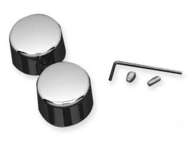 Rear Axle Caps. Fits Sportster 1957-1980 & Big Twin Late 1973-1980.