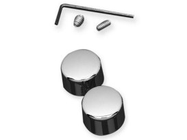 Axle Caps - Chrome. Fits Rear on Big Twin & Sportster 1981-1989 & Front on Springer