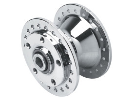 Front Wheel Hub. Fits Narrow Glide 1984-1999 Models with Single or Dual Disc Rotor.