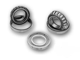 Bearing Kit; Left Crank Case, Big Twin'55-68, Timken