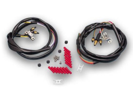 Handlebar Wiring Kit; Big Twin & Sportster'72-81 with Chrome Switches