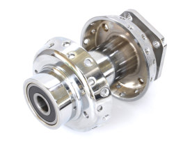 Front Wheel Hub - Chrome. Fits FX & FL Softail 2000-2006 & Dyna Wide Glide 2000-2005 Models with Single Disc Rotor & 3/4