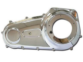 Outer Primary Cover - Chrome. Fits Dyna 2006up with Mid Mount Controls.