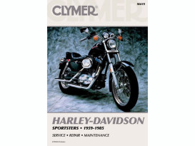Service Manual; Sportster'59-85, Made by Clymer