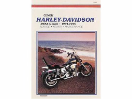 Service Manual; Dyna'91-98, Made by Clymer