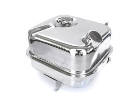 Oil Tank with Chrome Finish. Fits Big Twin 1982-1986 with 4 Speed Transmission & Swingarm Frame.