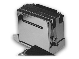 Battery Box Kit; FXE'76-86, Chrome Finish