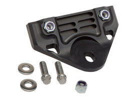 Next Gen Front Engine Mount Bracket with Black Anodised Finish. Fits FXR & Touring 1980-2006.
