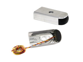 Strut Light Kit with Red Run/Brake & Amber Turn Signal - Chrome. Fits Breakout 2018up.