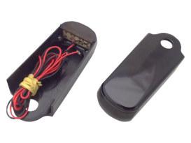 Strut Light Kit with Red Run/Brake & Amber Turn Signal - Black. Fits Blackline and Slim 2011-2017.