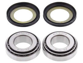Steering Bearing Kit. Fits Big Twin 1960up & Sportster 1982up. </P><P>