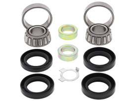 Swingarm Bearing Kit. Fits Big Twin 1958-1985 with 4 Speed Transmission.