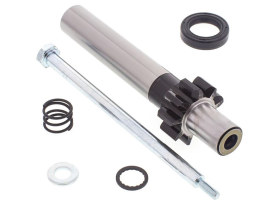 Starter JackShaft Kit. Fits 5Spd Big Twin 1994-06 with 66 Tooth Ring Gear Conversion & 9 Teeth Pinion.