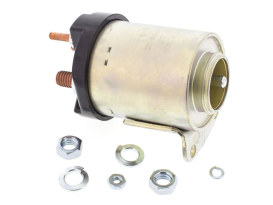 Starter Solenoid - Zinc. Fits 4Spd Big Twin 1965-1986, Softail 1984-1988 & Sportster 1967-1980.