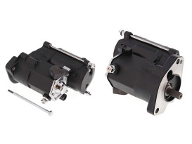 1.4kw Starter Motor - Black. Fits Big Twin 1989-2006.
