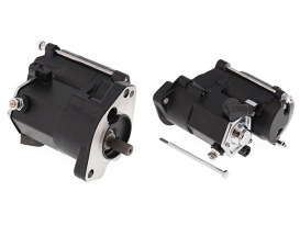 1.7kw Starter Motor - Black. Fits Big Twin 1989-2006.